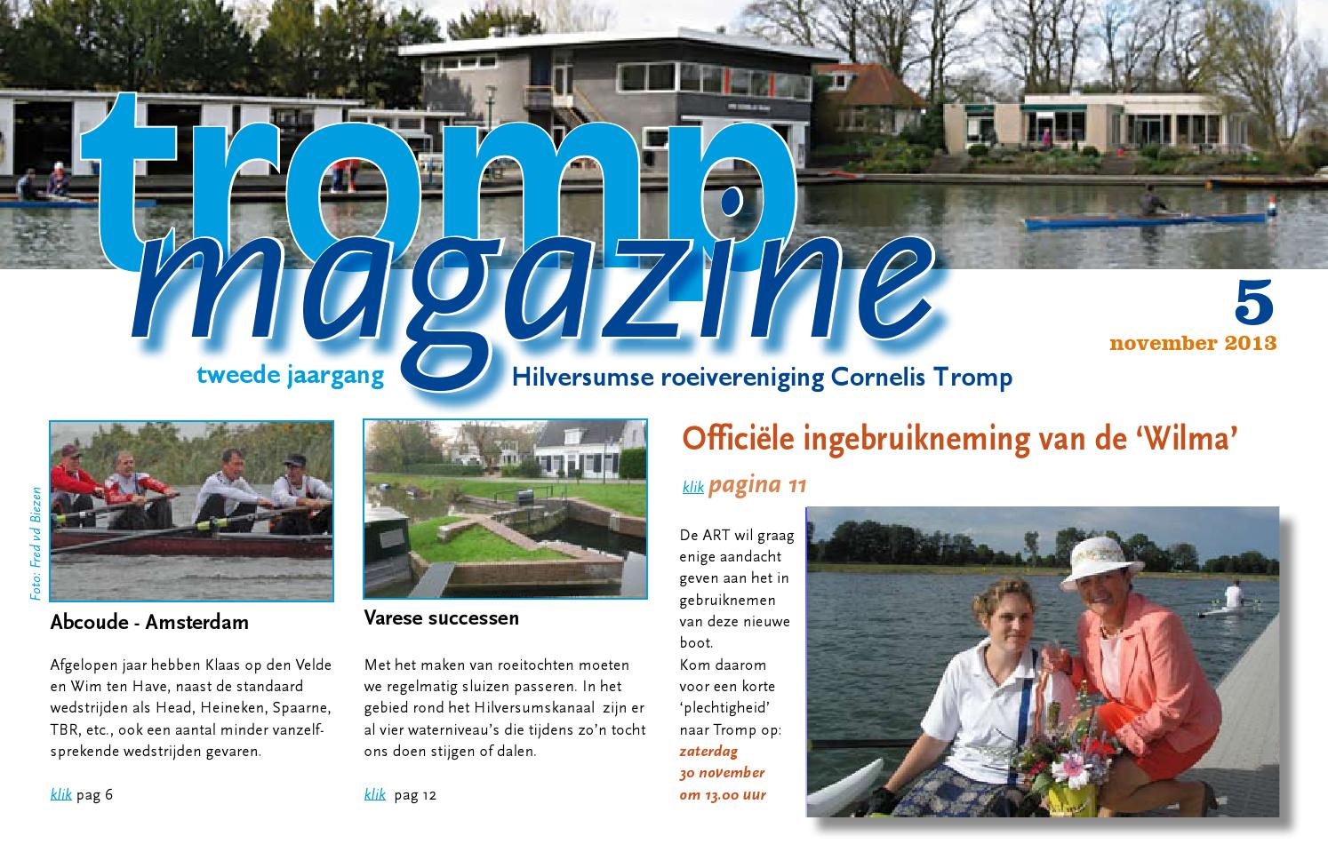 Tromp magazine 2013 5 by HRV Cornelis Tromp - issuu