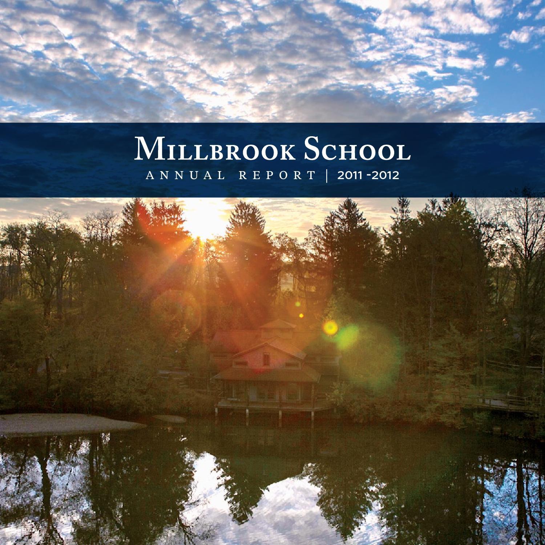 Annual Report/Magazine, Fall 2012 by Millbrook School - issuu