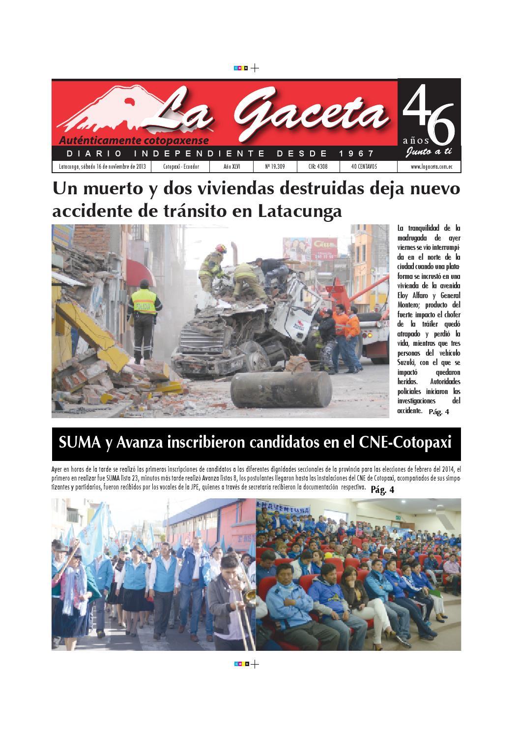 La Gaceta 16 Noviembre 2013 By Diario La Gaceta Issuu