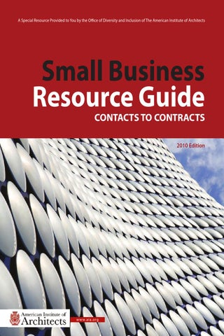 Small Business Resource Guide By AIA Diversity Inclusion Center Of - Aia format invoice online grocery store