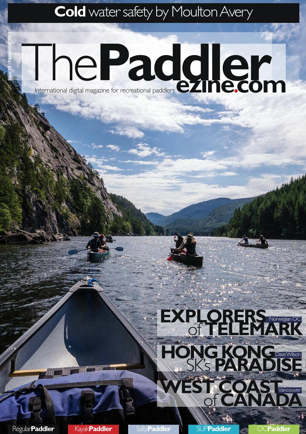 ThePaddler 14 November 2013 Open Canoe Cover by The Paddler ...
