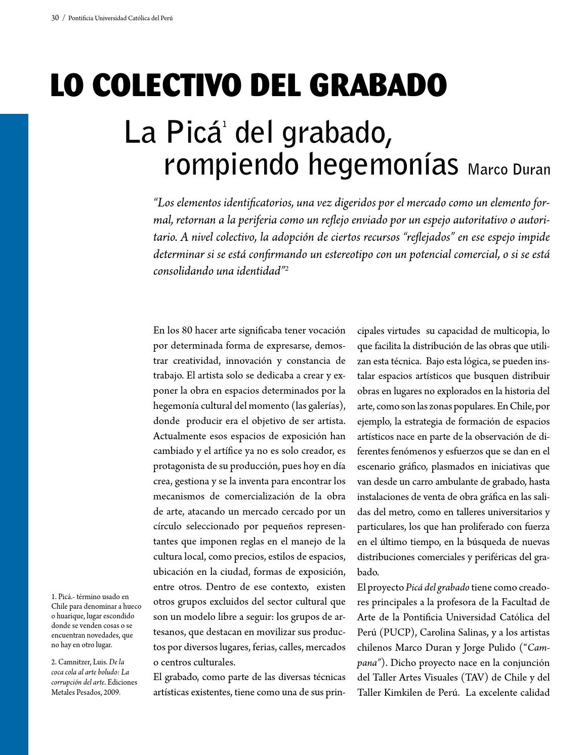 Revista Rinoceronte nº 4 by Taller de Grabado - issuu
