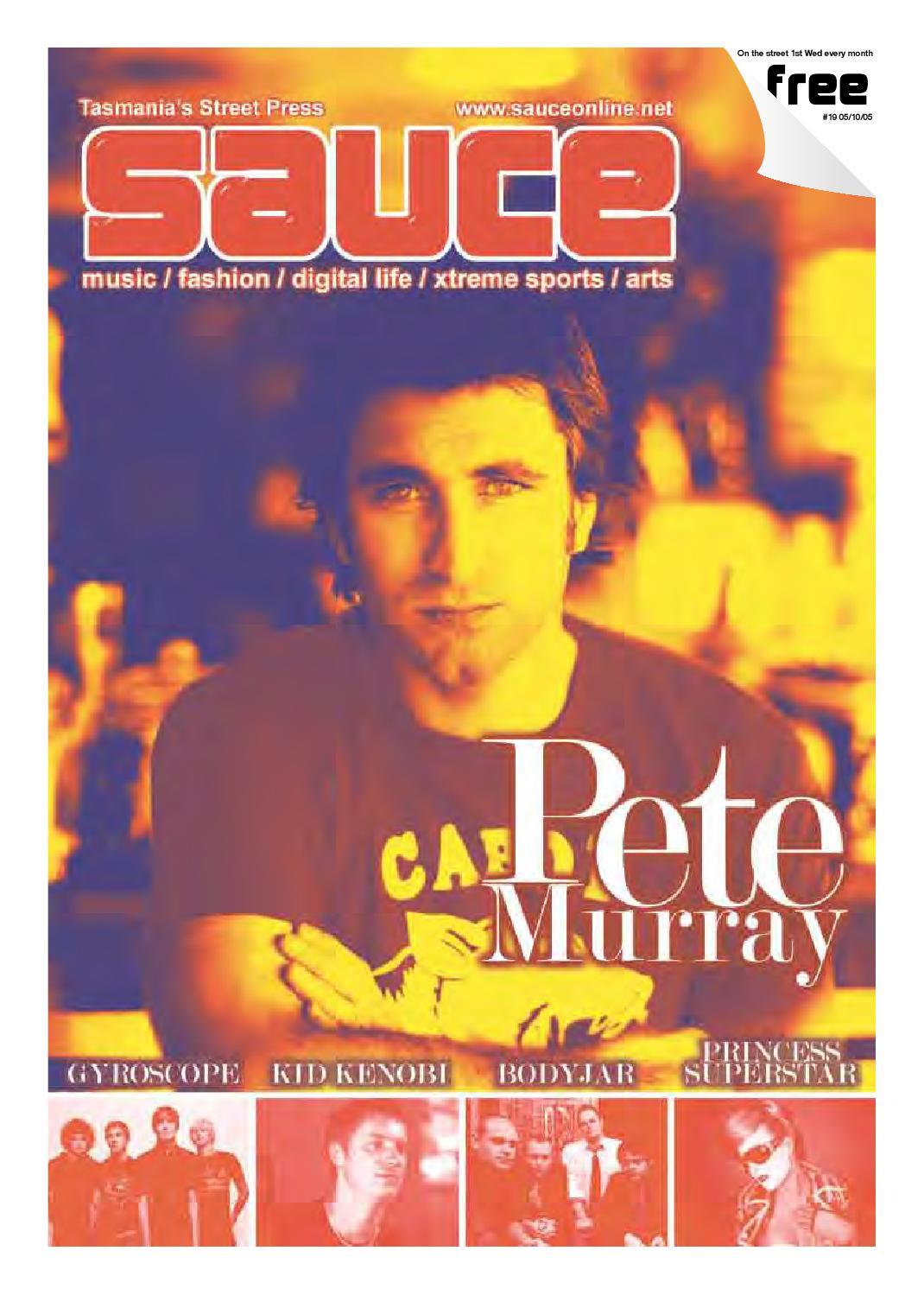 Sauce - Issue 19, 05-10-05 by David K Q Williams - issuu
