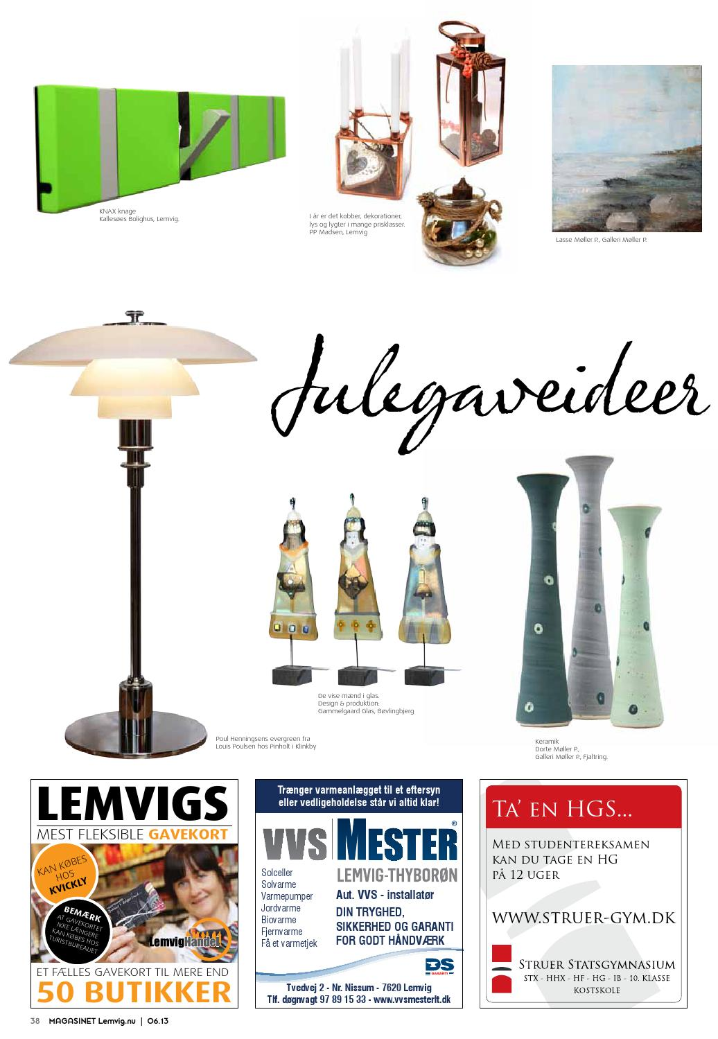 e0321d1fc4f Magasinet Lemvig 0613 by Henrik Vinther Krogh - issuu