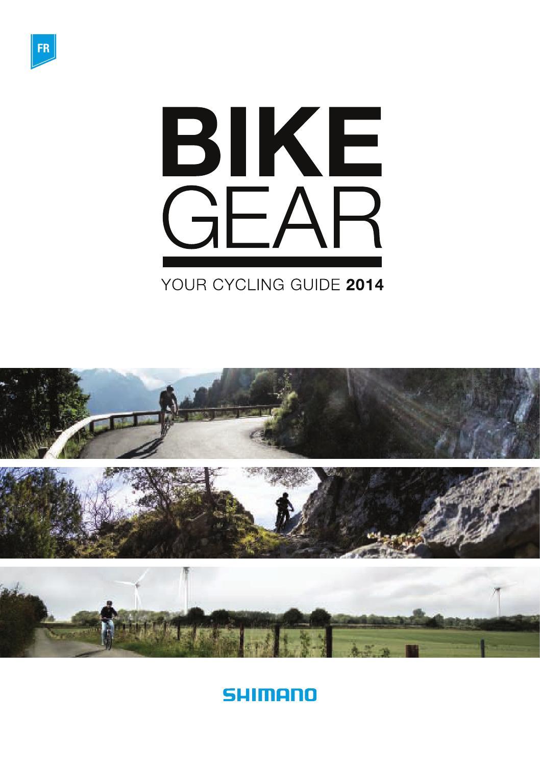 By Fr Issuu 2014 Openbikes Ebook Shimano Sfcc Bikegear fq6xfXv