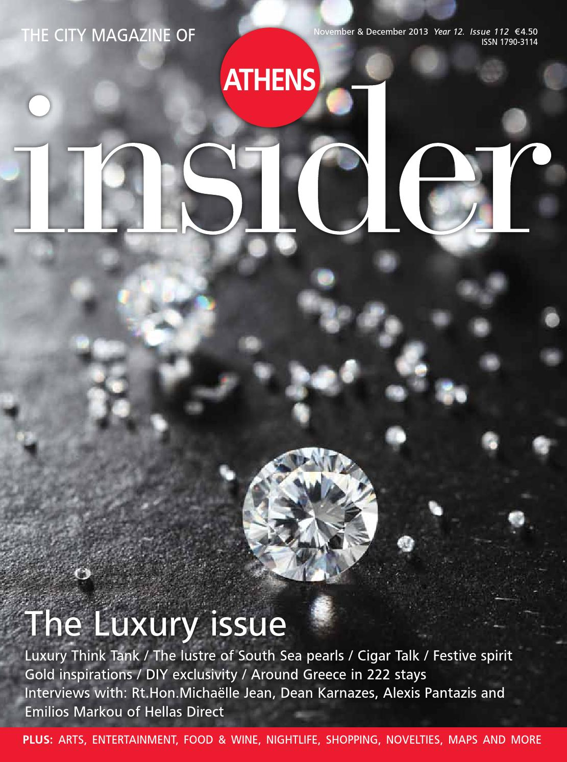 Insider 112 November December 2013 By Publications Issuu Hoc Store Titanium Cufflinks Set 09