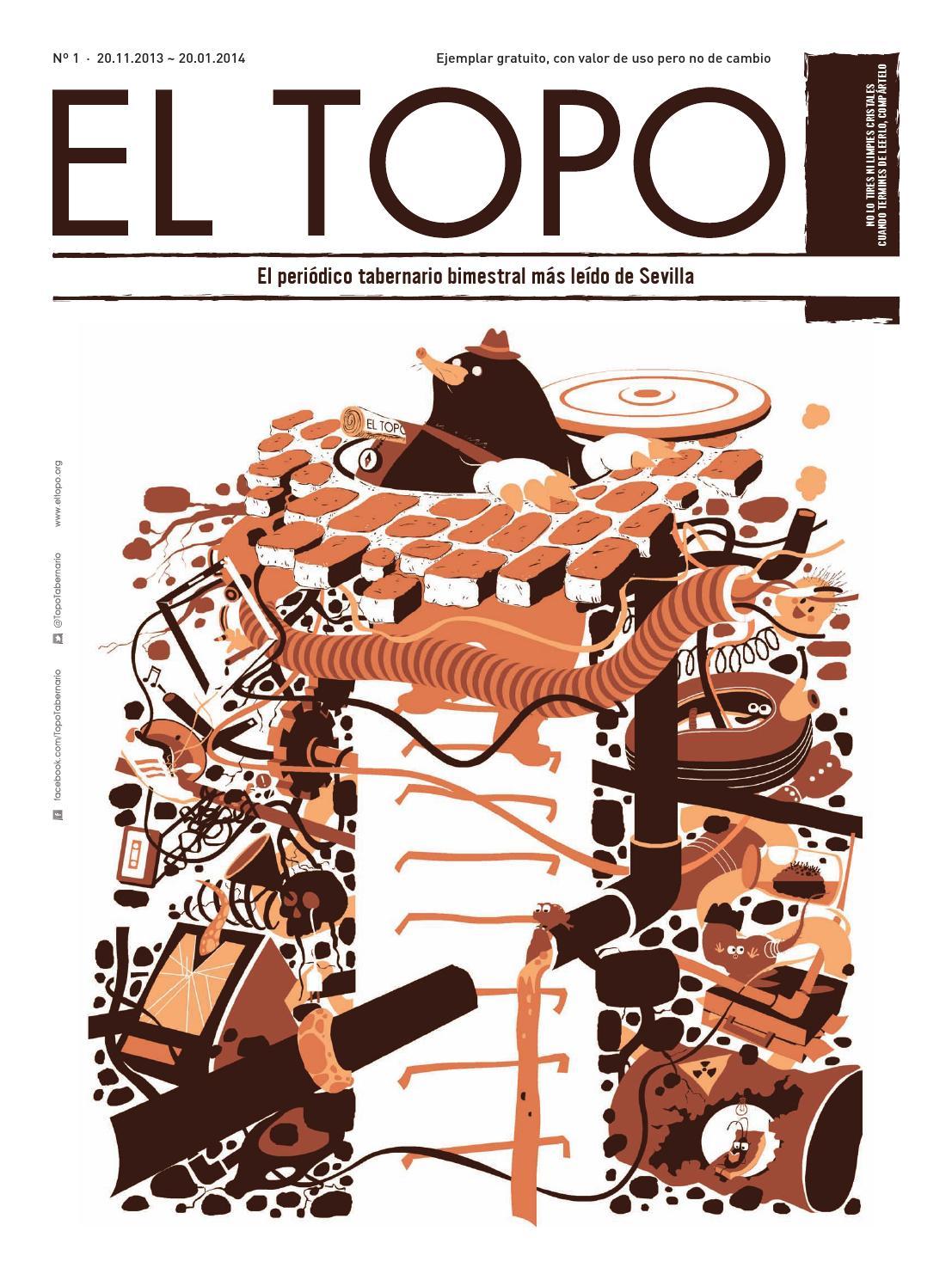 El Topo nº 1 · 20.11.2013 ~ 20.01.2014 by Topo Tabernario - issuu