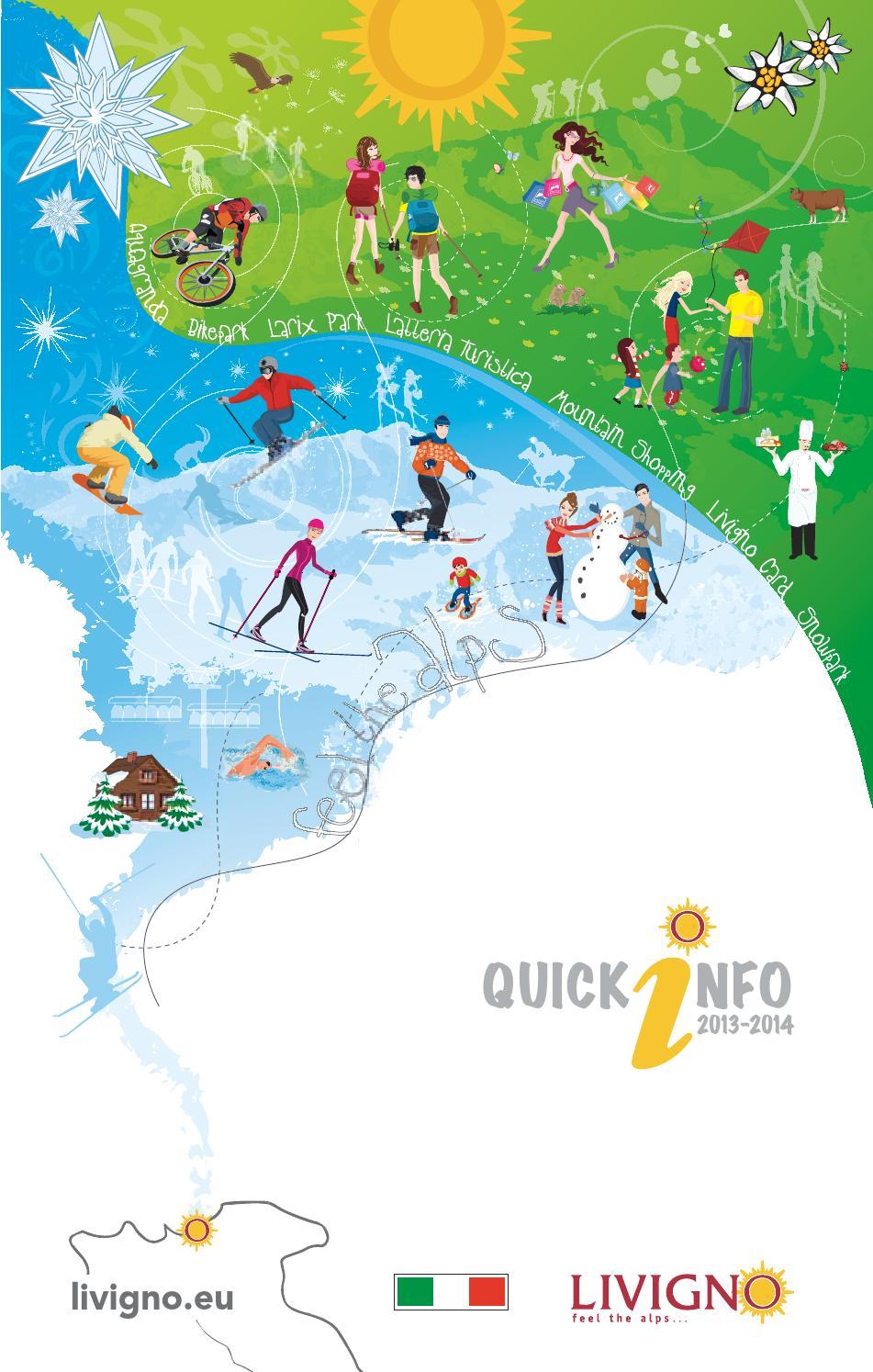 Quick info 2013-2014 italiano by APT Livigno - issuu