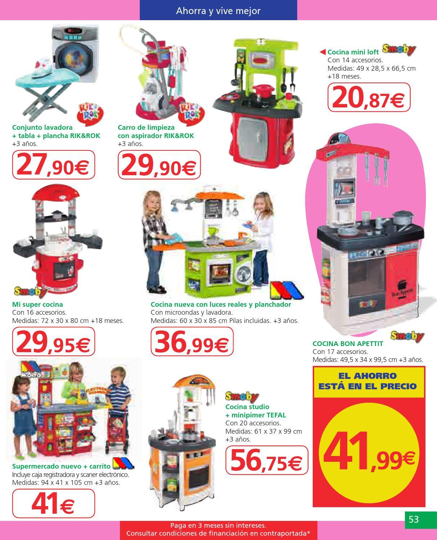 Catalogo juguetes alcampo by misfolletos - Cocina lidl juguete ...