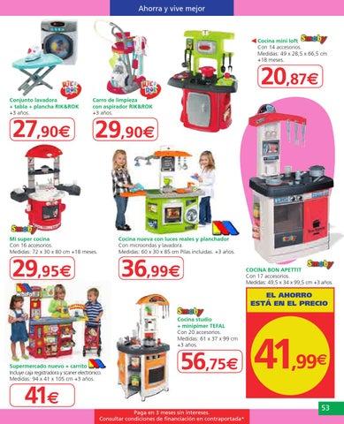 Catalogo juguetes alcampo by misfolletos for Cocina juguete carrefour