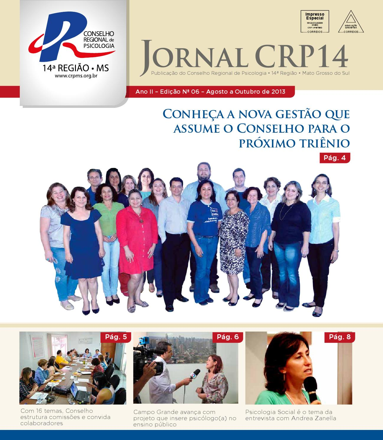 Jornal CRP12 N.12   Ago.Out 12 by Crp ms Psicologia   issuu
