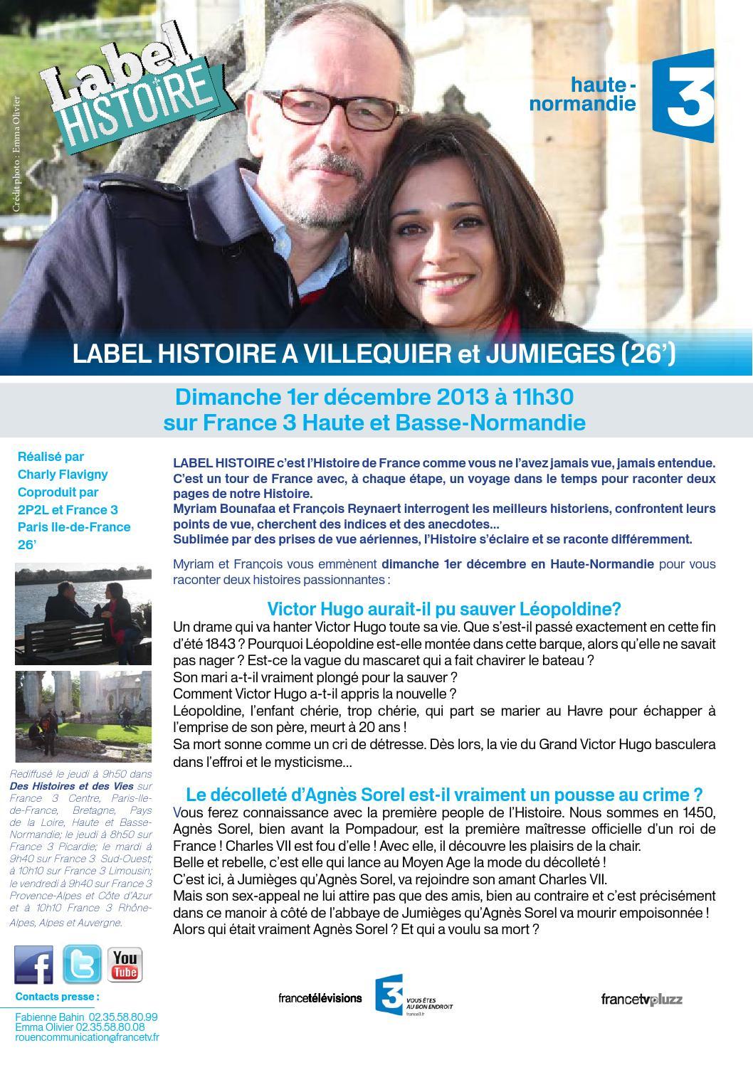 Guide tv france 3 haute normandie by francetrois haute for 3 haute normandie