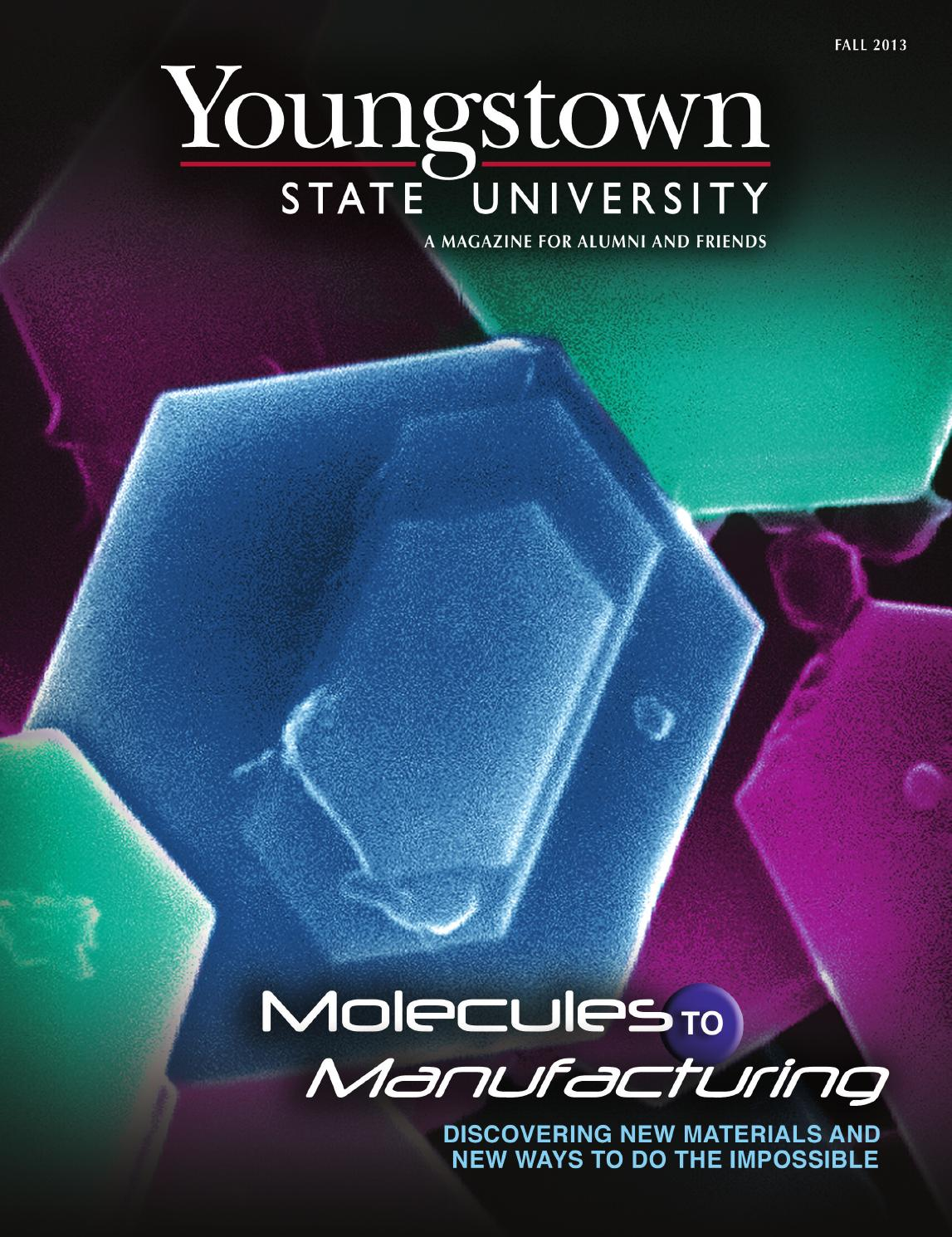 A Surprising Family Legacy Molecular >> Molecules To Manufacturing By Youngstown State University