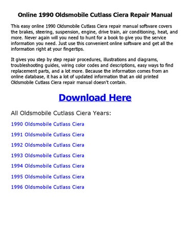 93 1993 oldsmobile cutl ciera engine diagram | wiring diagram on 93 oldsmobile  delta 88,