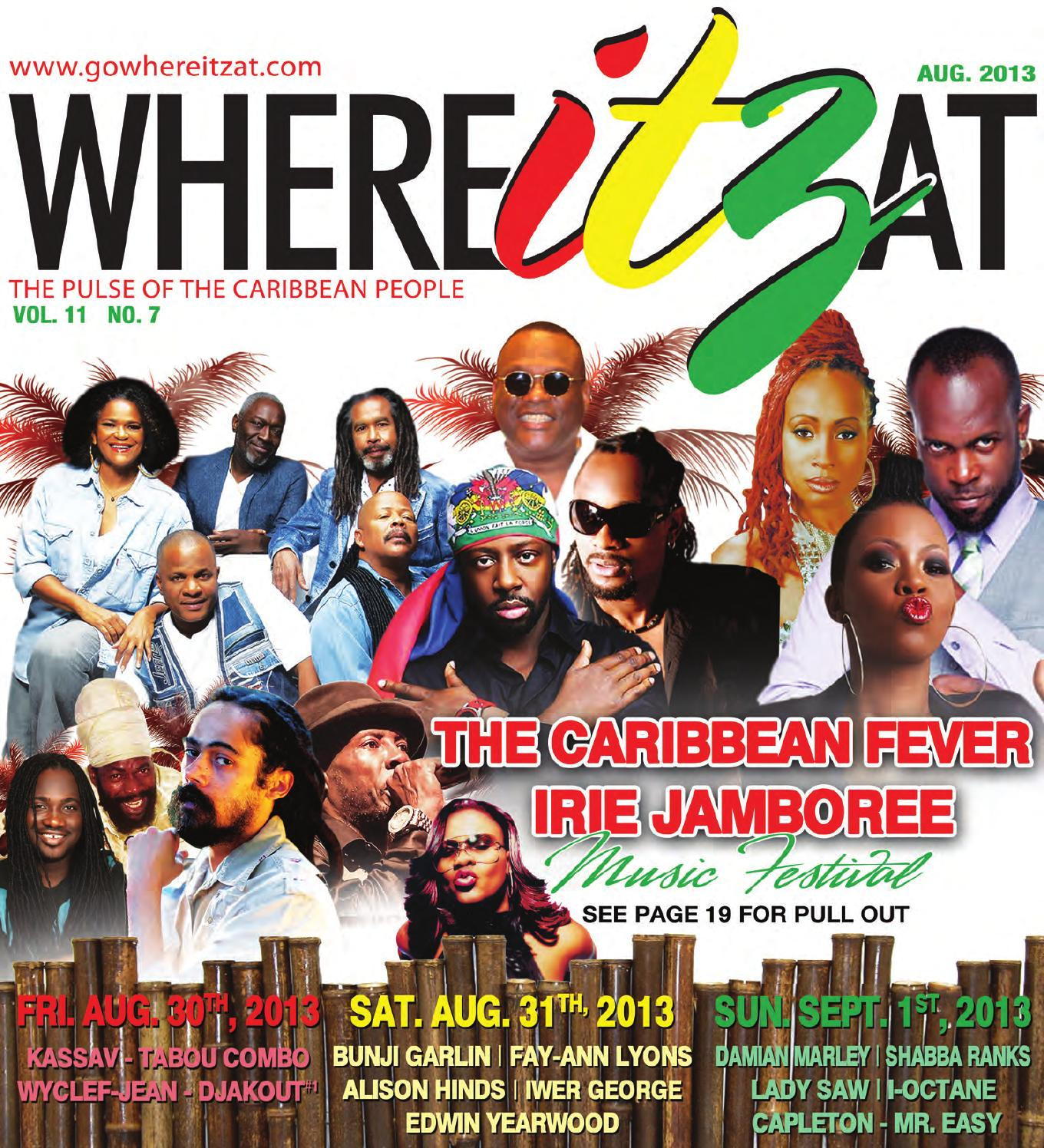 WhereItzAt Magazine - August Issue by WhereItzAt Magazine