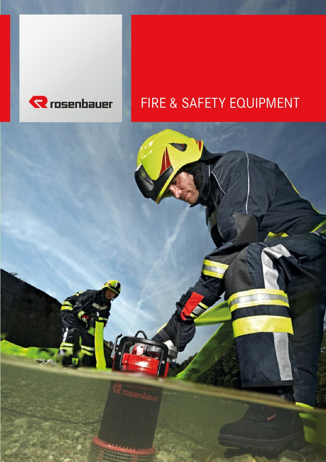 Rosenbauer Fire & Safety Equipment Catalogue by Sasgar Fire and