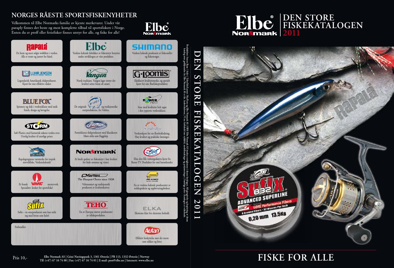 1d90f85fa Den Store Fiskekatalogen 2011 by Normark Norway AS - issuu