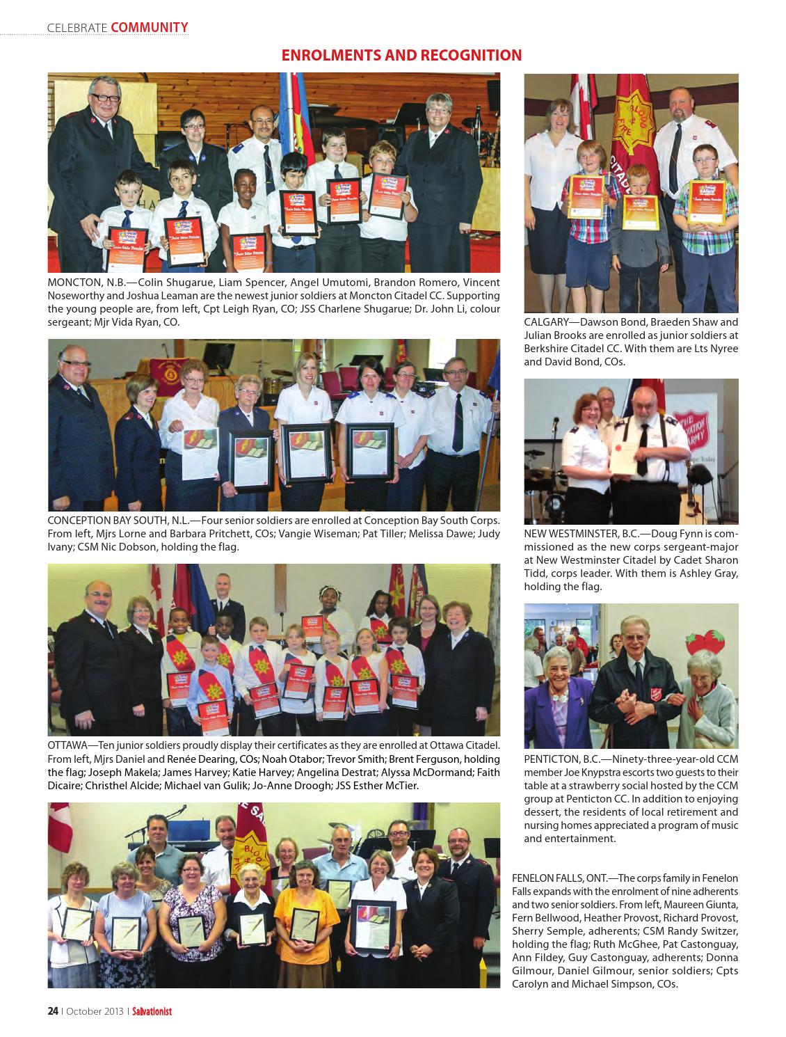 Salvationist - October 2013 by The Salvation Army - issuu