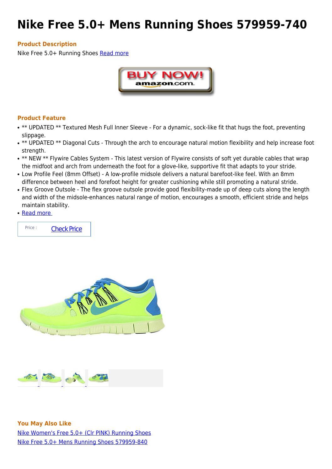 5c84648c3bb2 Nike free 5 0 mens running shoes 579959 740 by gedwardjoedoll - issuu