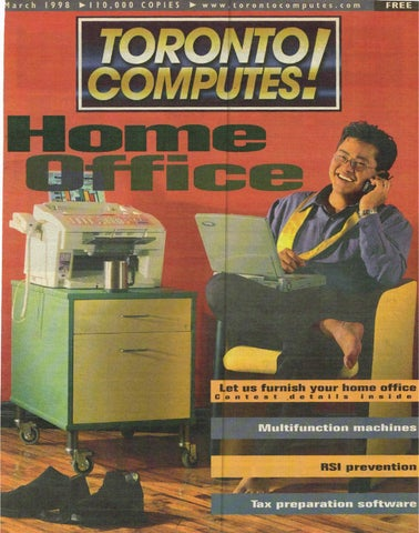 1998 03 Toronto Computes! by The Computer Paper - issuu
