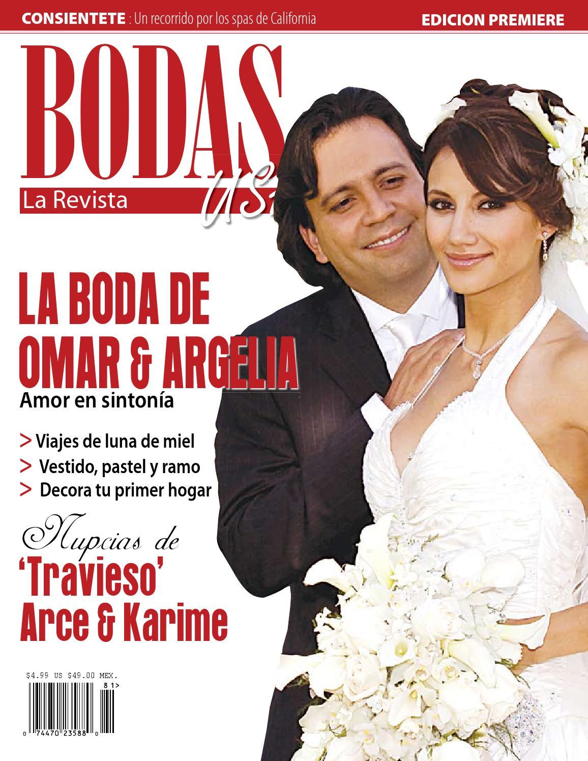 BODAS USA MAGAZINE SPANISH CALIFORNIA by J. Tony Fernandez Davila ...