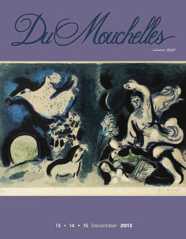 Dumouchelle Art Gallery 2013 December 13th 15th Auction Catalog By