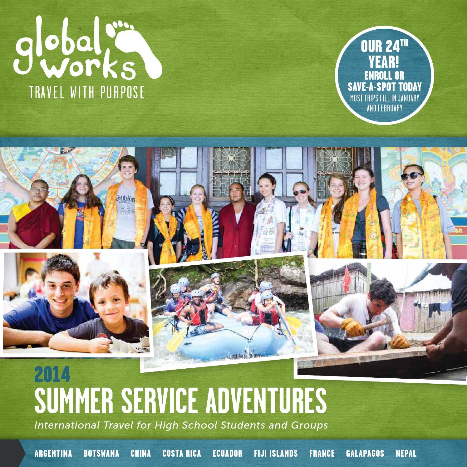 Global Works Travel 2017 Summer Service