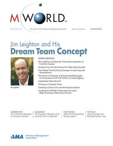 Mworld Summer 2013 By Americanmanagementassociation Issuu