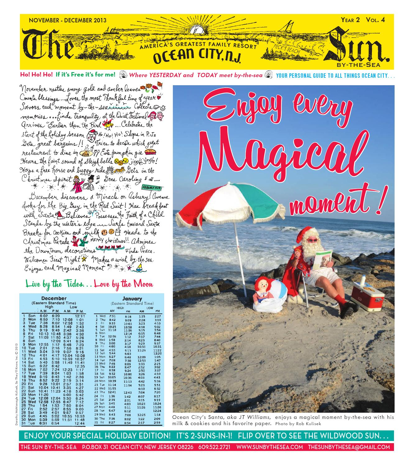 Enjoy Every Magical Ocean City Moment! by The Sun by-the-sea