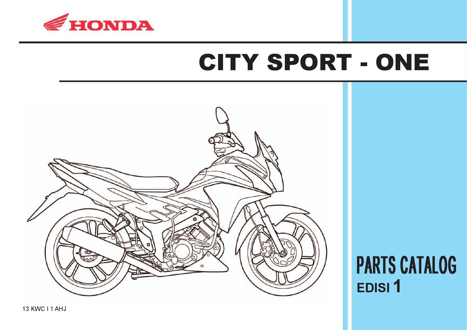 Wiring Diagram Honda Cs1