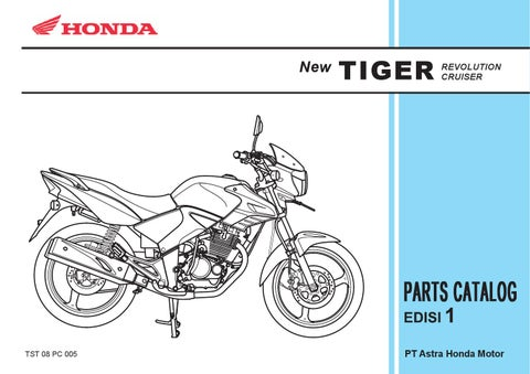 part catalog honda new tiger by ahass tunasjaya issuu rh issuu com Honda Goldwing Wiring-Diagram Honda Motorcycle Wiring Diagrams