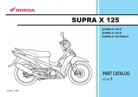 Part catalog honda supra x 125 by ahass tunasjaya issuu page 1 asfbconference2016 Images