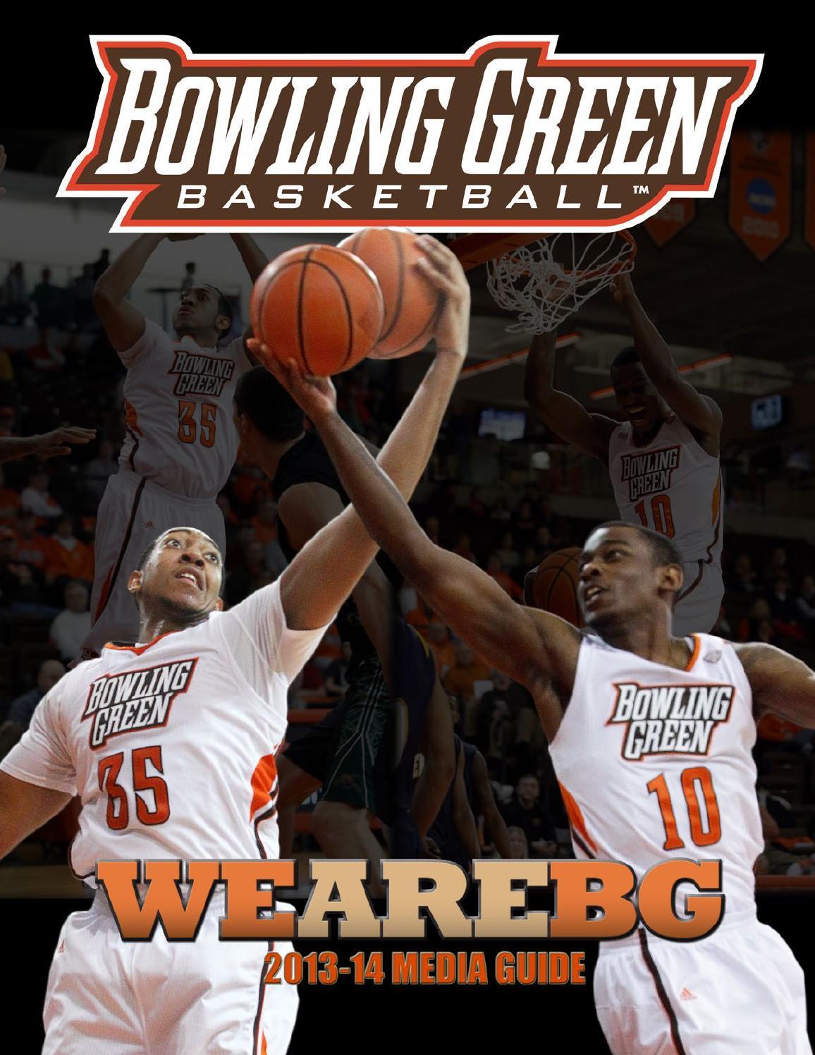 2013 14 BGSU Menu0027s Basketball Media Guide