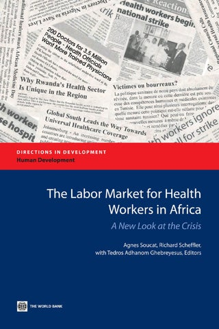 a4fc9c49e395f4 The Labor Market for Health Workers in Africa by World Bank ...