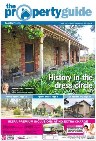 bendigo weekly property guide issue 141 friday nov 22 2013 by rh issuu com
