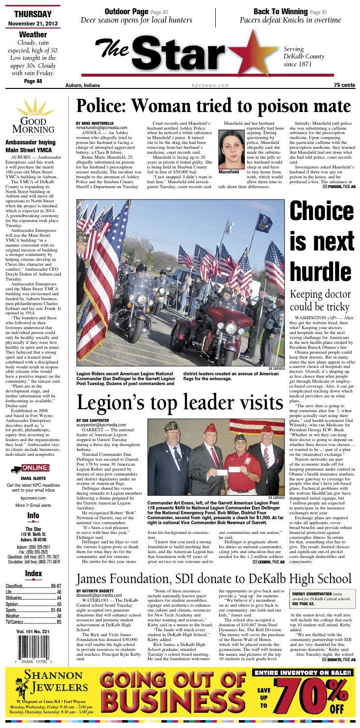 The Star - November 21, 2013 by KPC Media Group - issuu