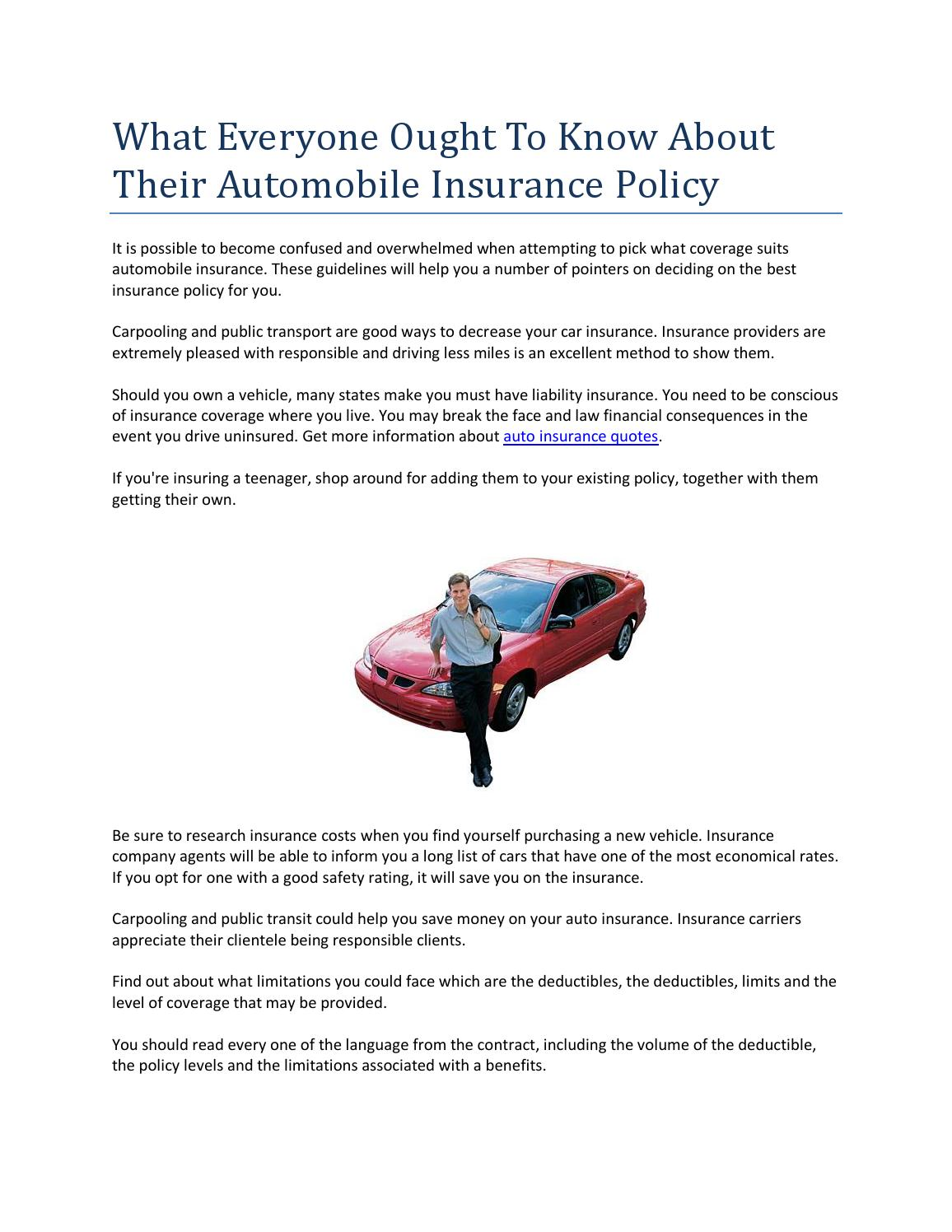 Auto Insurance Quotes By Polash Islam Issuu - Car show insurance coverage
