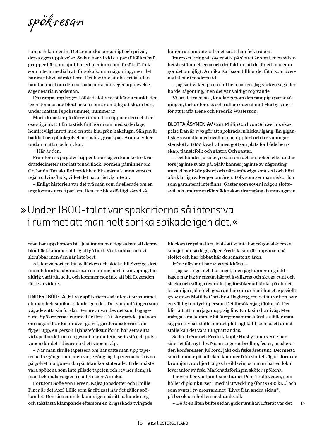 Magasin Visit Östergötland höst vinter 2013 by Visit Östergötland - issuu bdbcdefecc58d