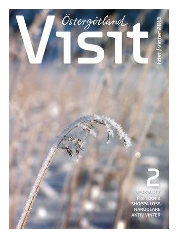 Magasin Visit Östergötland höst vinter 2013 by Visit Östergötland ... a18903153a1be