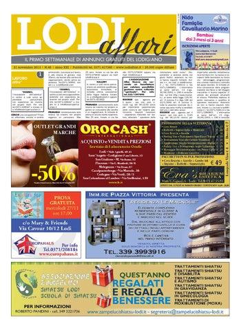 Lodi Affari 21 Novembre by Lodi Affari - issuu 65dccd0a3cf