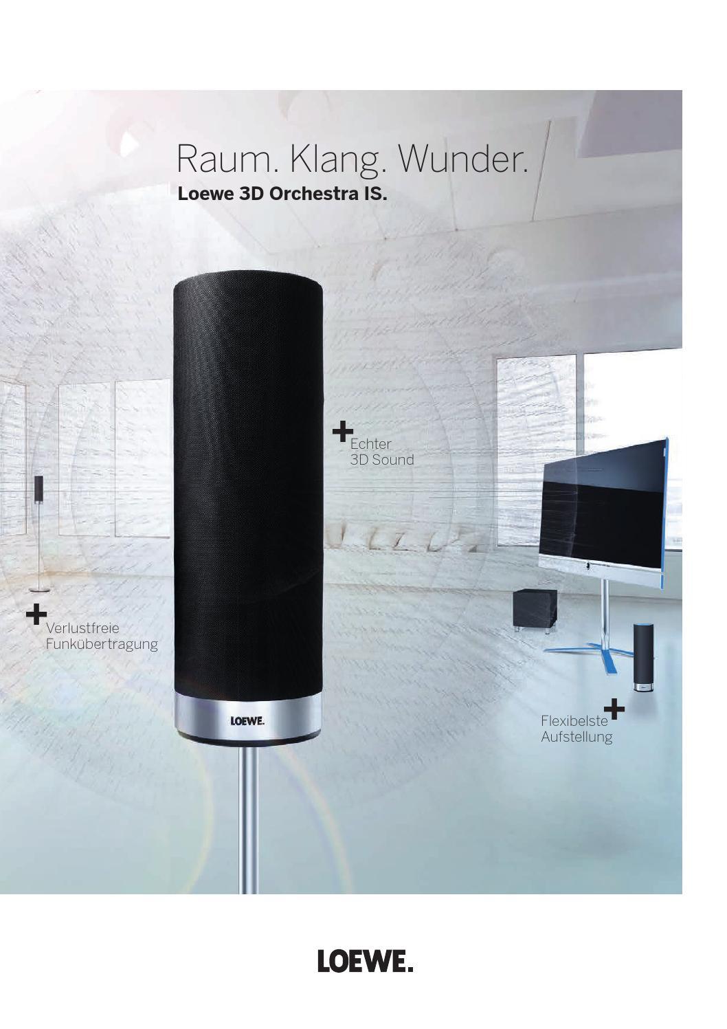 Loewe 3D Orchestra, deutsch by Loewe - issuu
