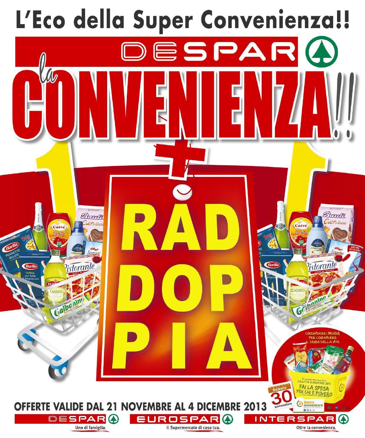 Volantino despar 21 novembre 4 dicembre 2013 by despar for Bernava volantino messina