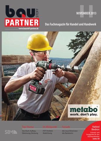Baustoff Partner November 2013 by SBM Verlag GmbH - issuu