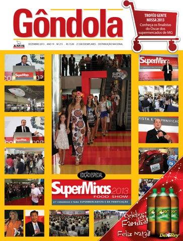 Revista Gôndola Edição 215 by AMIS Associação Mineira de ... f26a999a998
