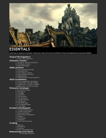 Skyrim essentials [improved] by stecca matheus - issuu