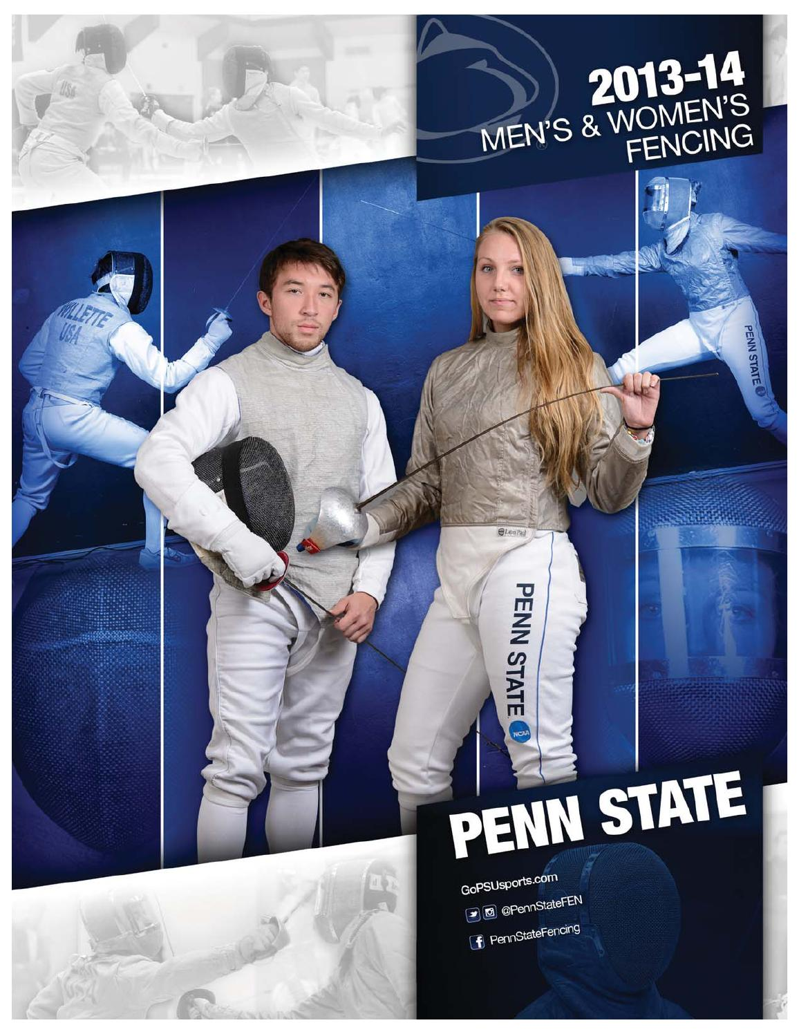 Penn State Fencing 2013 14 Yearbook By Penn State