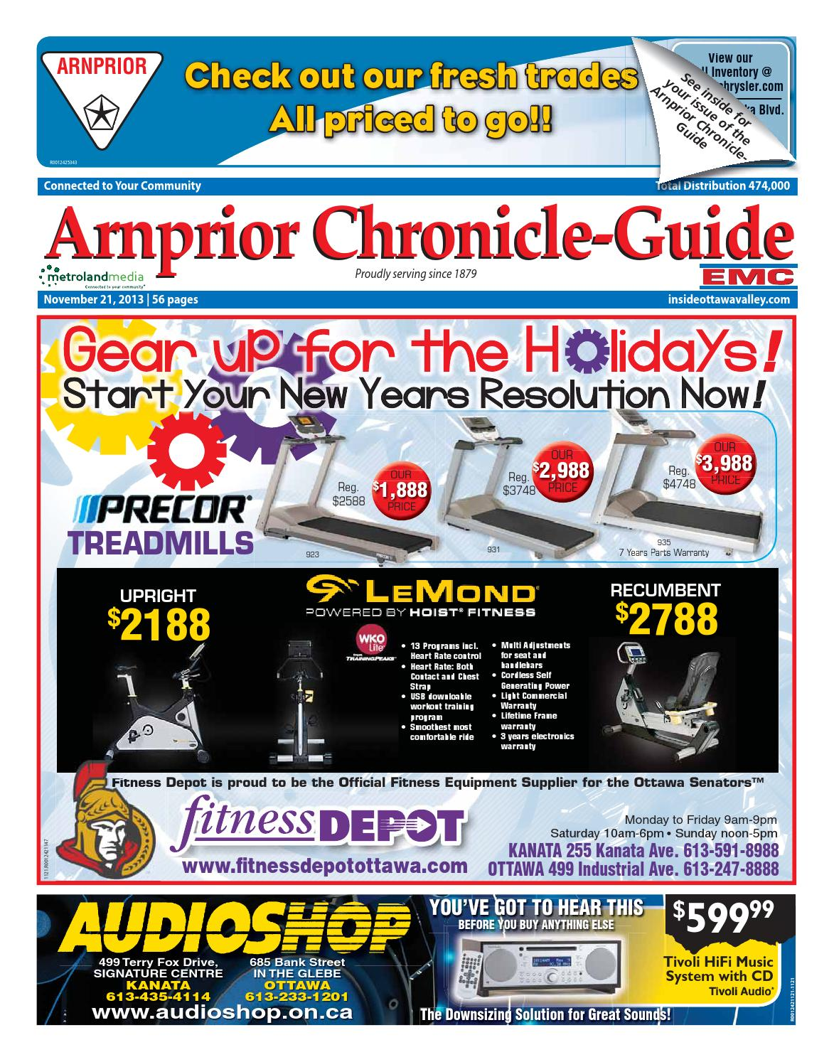 Arnprior112113 By Metroland East Arnprior Chronicle Guide Issuu Main Board Mp 287 Canon Motherboard