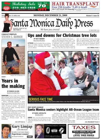 ea297e44 Santa Monica Daily Press, December 21, 2009 by Santa Monica Daily ...