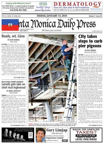 Santa Monica Daily Press, January 15, 2010