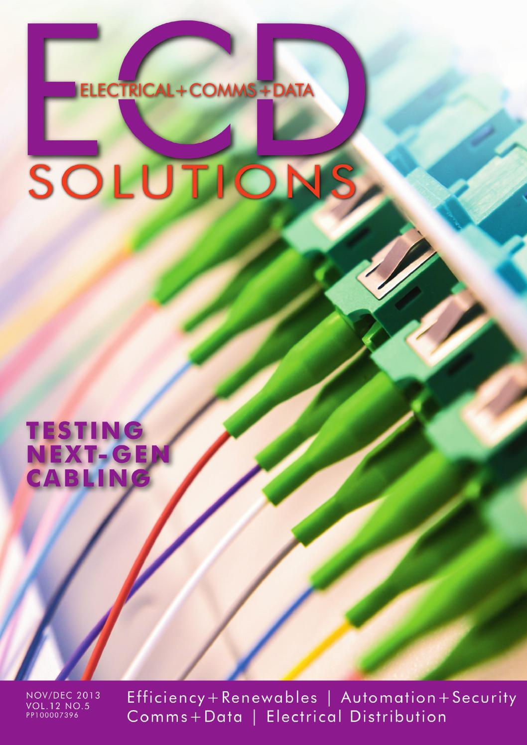 Ecd Solutions Nov Dec 2013 By Westwick Farrow Media Issuu Usb Rj45 Cable Wiring Diagram How To Build An Apc Ups Data Page